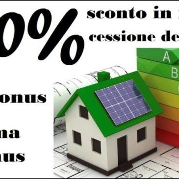 SuperBonus 110%: Ecobonus e Sismabonus